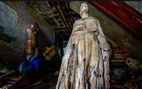 人体模型废墟鬼屋